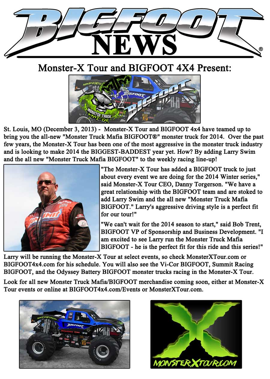 Monster-X and BIGFOOT Present