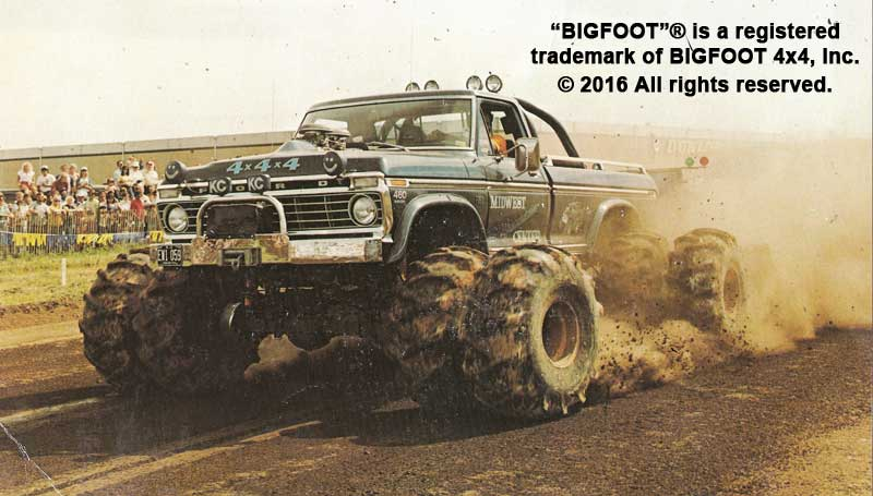 History of BIGFOOT « Bigfoot 4×4, Inc  – Monster Truck