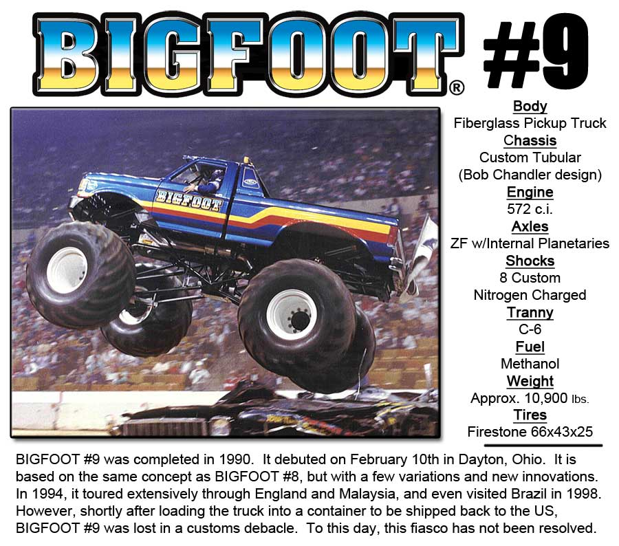 BIGFOOT-9