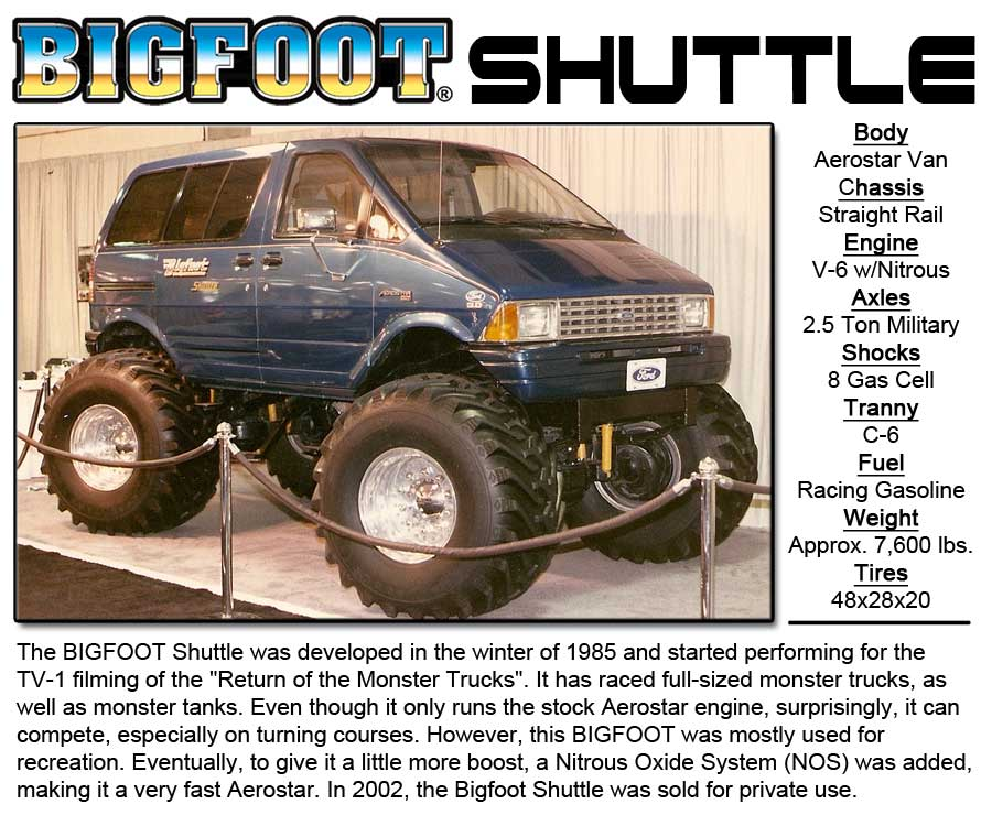BIGFOOT-Shuttle