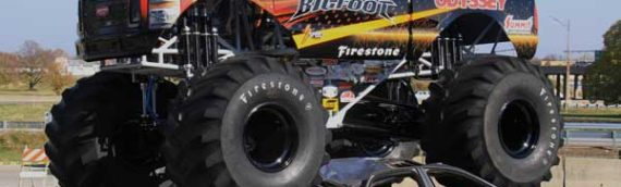 """News – 2015 – BIGFOOT 4X4, Inc. and The Toughest Monster Truck Tour """"Light It Up Blue"""" in 2015"""