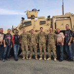 Dan and Larry with the EOD unit at Al Jaber Air Base in Kuwait.