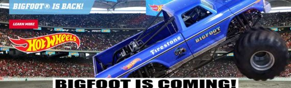 NEWS – BIGFOOT Is Coming To The Hot Wheels Monster Trucks Live Series