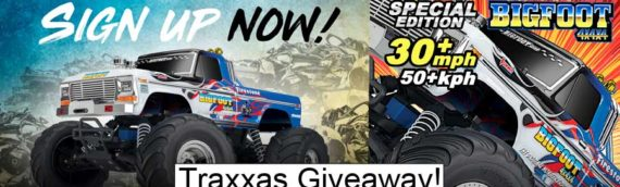 NEWS – Traxxas Giveaway