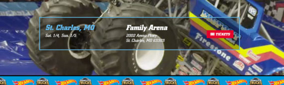 Hot Wheels Monster Trucks Live Features BIGFOOT at St. Charles Show